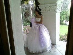 Bride at Brand Library