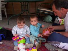 Dani y Julia 7 de mayo 2006