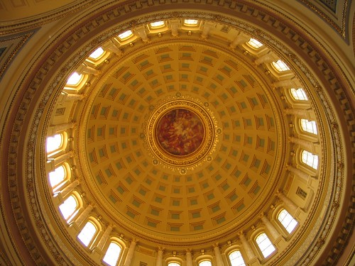 The dome at the Capitol