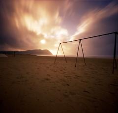 Seaside, Swingset photo by Zeb Andrews