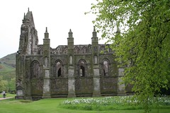 Ruins of the Abbey Church at Holyrood, Edinburgh (1)