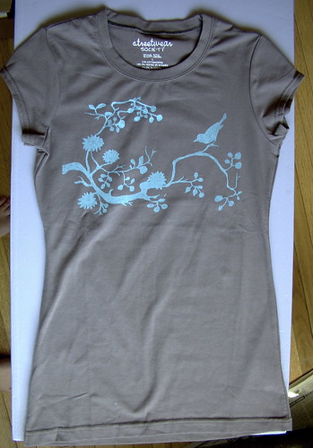 bird branch t-shirt