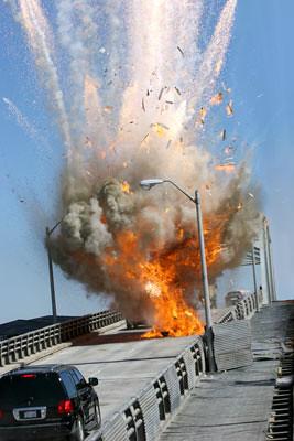 MI III Explosion