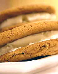 Espresso Ice Cream Sandwiches