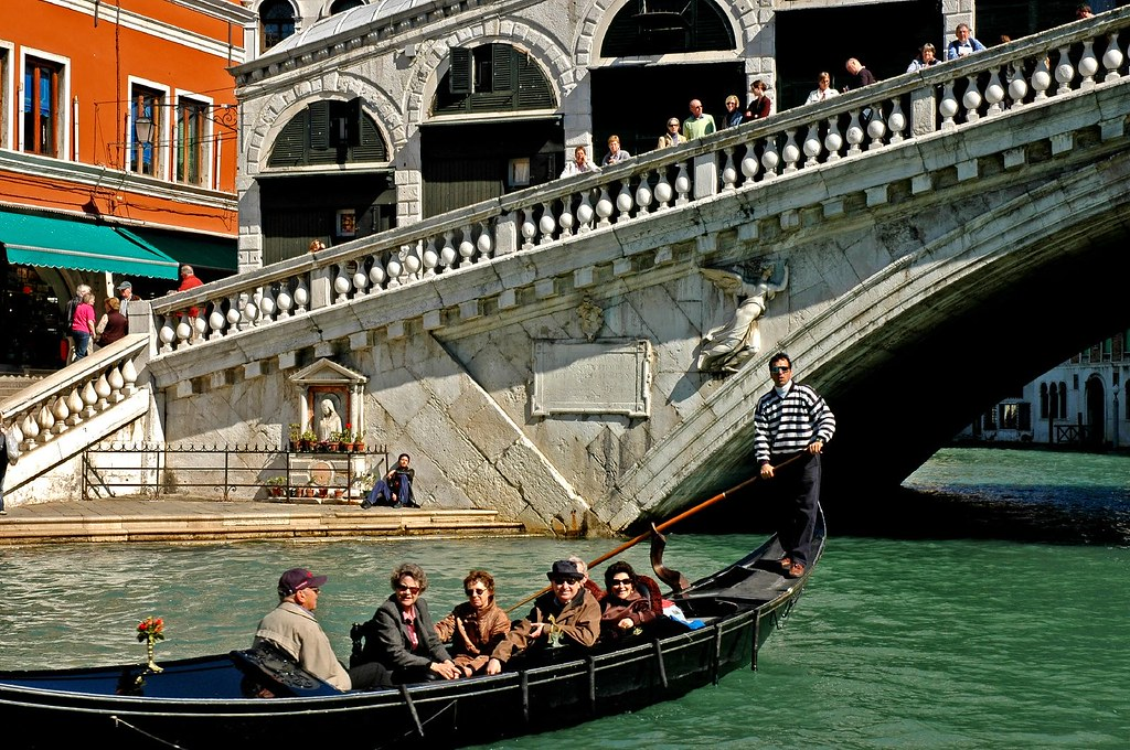 Tourist and the Rialto