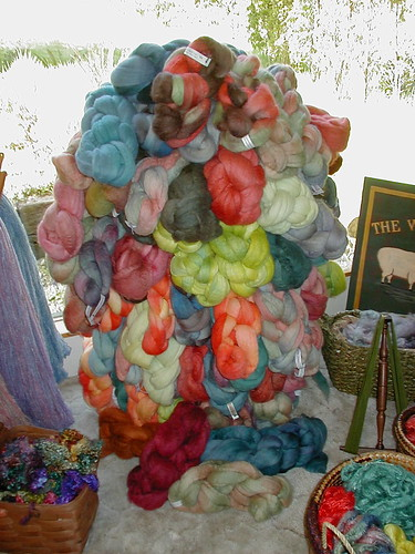 Handdyed fibers, The Artful Ewe
