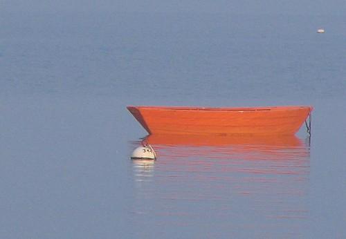 A clockwork orange boat