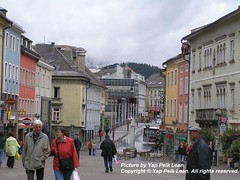 A quaint little town at the south of Austria