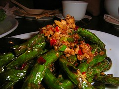 French Beans with spicy pork and preserved veg (SiJiDo)