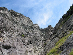 Looking Up To Top Of Gully On White Chuck Mtn (Fortunately You Don't Have To Go Up This)