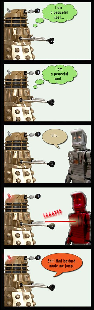 Dalek and Borg 28
