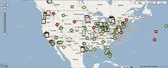 Wireless Internet Access Global Map