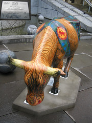 No 66 Och Aye The Moo at Edinburgh Cow Parade 2006