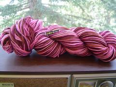 Dye-o-rama practice yarn