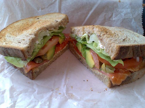 The Salmon and Avocado Special
