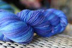 DyeORama swap yarn
