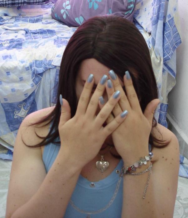 Nails Close Face