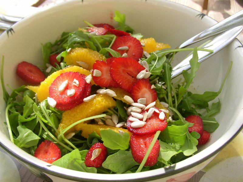 Garten-Koch-Event: Rucola - fruchtiger Rucolasalat