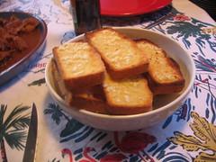 garlic cornbread