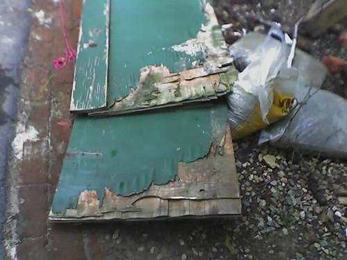Warped Basement Doors - May 29, 2006