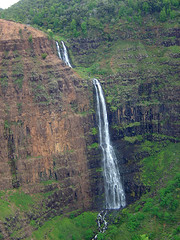 Waimea Canyon - Big Waterfall