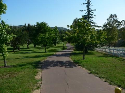 Via Verde Park Walking Path