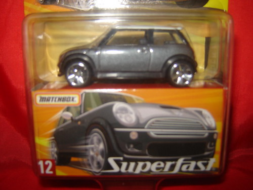 Mini Cooper S, Superfast #12. 1:64.