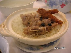 chicken feet and rice