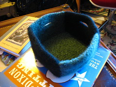 Felted box