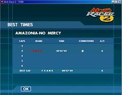 AMAZONIA - NO MERCY - MAP 24人競賽紀錄