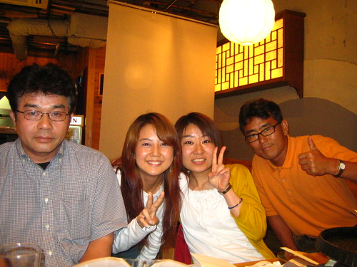 nishihara-san, me, egami-san, yamashita-san (my big big boss)