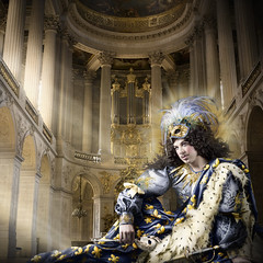 Louis XIV – The Sun King (1638–1715) photo by Alexia Sinclair