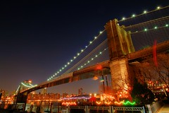 The Brooklyn Bridge, New York City HDR photo by lenovo_T500