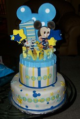 Mickeys first Birthday photo by gigiscakeboutique