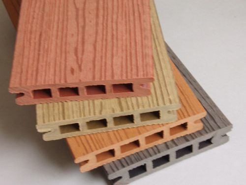Wood-Plastic-Composite-Decking-Brushed-Woodtexture-