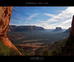 cathedral rock view photo by Andrea Costa Creative