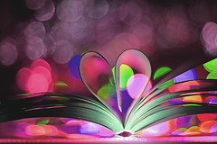 Book heart photo by grazanna