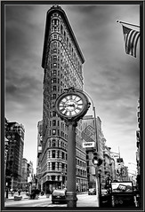 Flatiron Building B&W photo by edpuskas