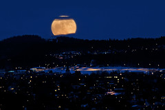 Super Moon in Trondheim, Norway (Explored 20/3-2011) photo by Arve Johnsen