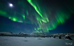 Auroral Lightshow photo by Ole C. Salomonsen
