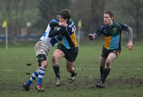 1st XV vs. Old Actonians -41
