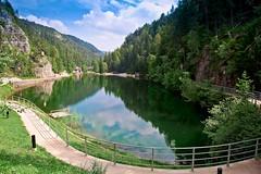 Lago Smeraldo Fondo Valdinon Trentino Alto Adige photo by mauropaolocascasi