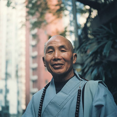 the monk photo by millan p. rible