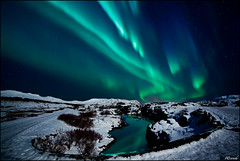 Northern lights photo by icerock