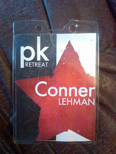 Conner PK retreat.