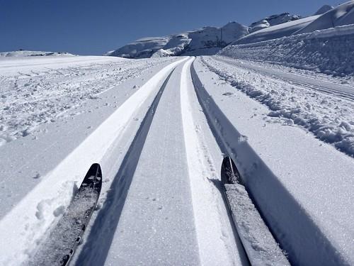 Ski de Fond @ Flaine
