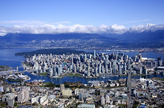 Vancouver - City under the mountains photo by Tim Shields BC