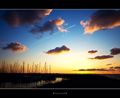 High Speed @ Sunset  .  .  .  [explored] photo by Borretje76