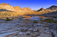 Rugged Dusy Basin - Kings Canyon National Park photo by David Shield Photography