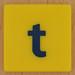 Junior Scrabble letter t